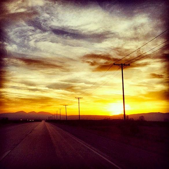 dusk_desert_road_584